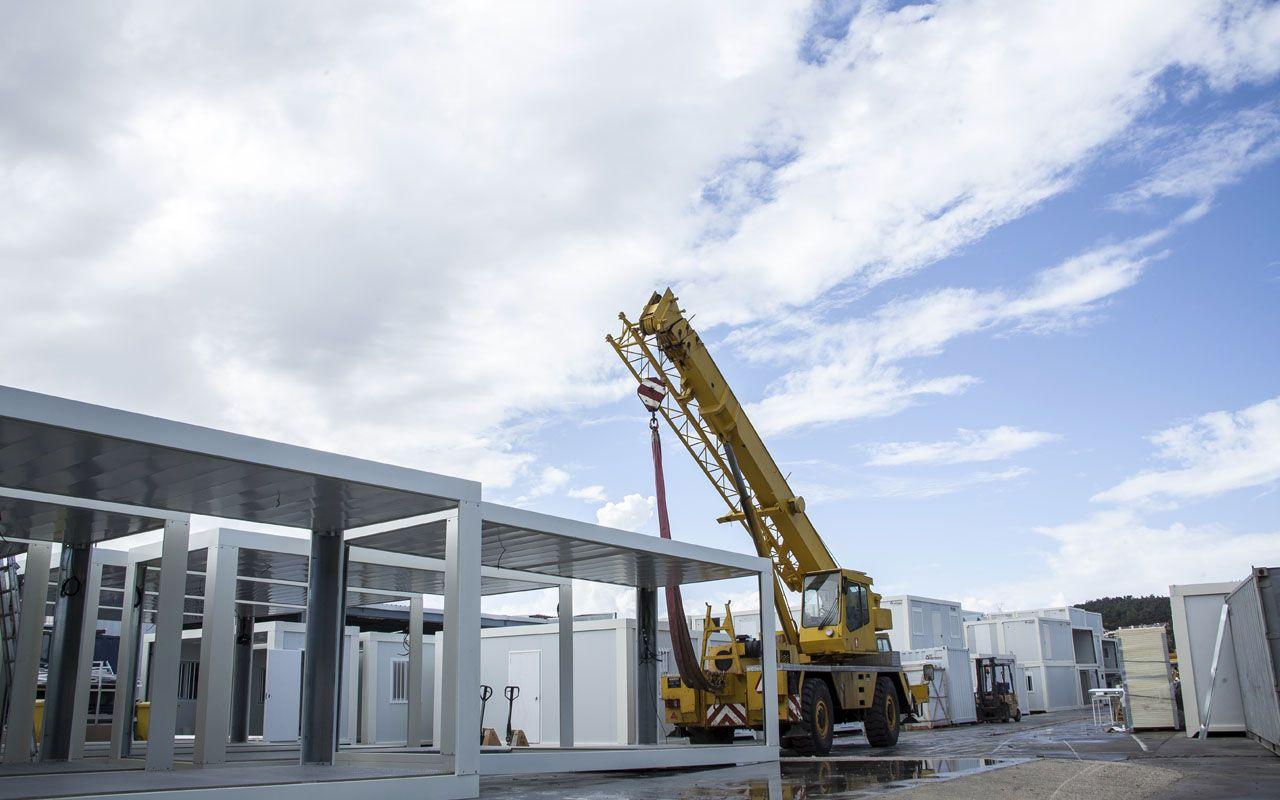 Servicios en construcci n modular grupo normetal for Construccion modular prefabricada